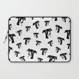 GREYHOUND DOG LOVERS ,GIFT WRAPPED FOR CHRISTMAS Laptop Sleeve