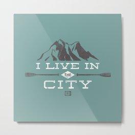 City Dweller Metal Print