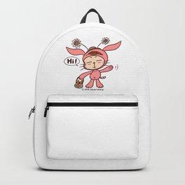 Hello Ppyorotong (PINK) Backpack