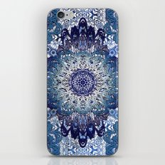 Indigo Lace Mandalas iPhone & iPod Skin