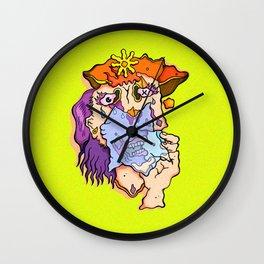 Weeping Woman Wall Clock