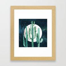 Desert Nights 2 Framed Art Print