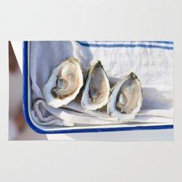 Oysters on Duxbury Bay Rug