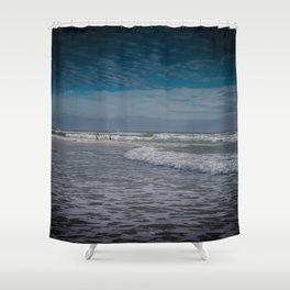 Gold Coast Beach Swim Shower Curtain