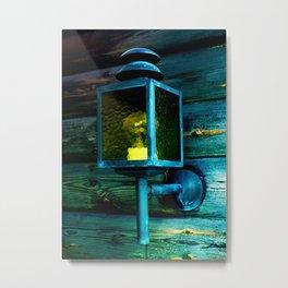 Wall lamp Metal Print