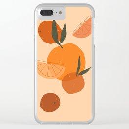 Citrus Love Clear iPhone Case