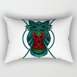 Owl The Nocturnal Rectangular Pillow