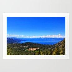Incline Lake Art Print