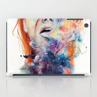 life iPad Cases featuring this thing called art is really dangerous by agnes-cecile