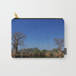 African landscape with baobabs Carry-All Pouch