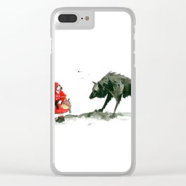 amazing little girl Clear iPhone Case