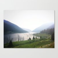 montana Canvas Prints featuring Montana by Kristine Ridley Weilert