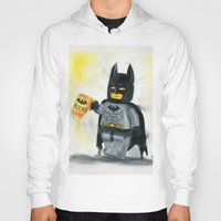 superhero Hoodies featuring Lego Superhero by Toys 'R' Art