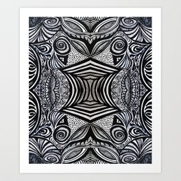 Gaia's Garden Inside Out No. 1 Art Print