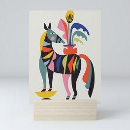 Zebra Mini Art Print