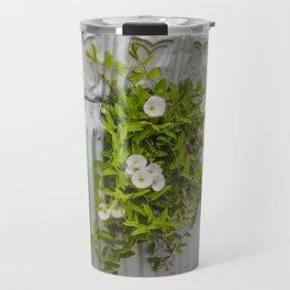 Pressed Tin and Weeds (Creeping Jenny) Travel Mug