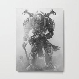 Chaos Marine - Warhammer 40000 artwork 2 Metal Print