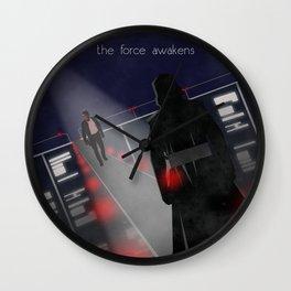 The Force Awakens Wall Clock
