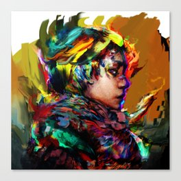 colorful one Canvas Print