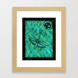 Mantis Light Framed Art Print