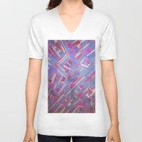 tina crespo V-neck T-shirts featuring Tina by Marina Scheinost