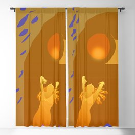 Golden Moments Blackout Curtain