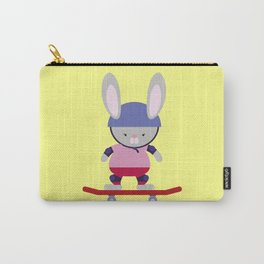 Bunny Skater Carry-All Pouch