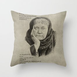 Blavatsky Throw Pillow