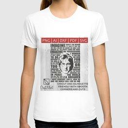 John Len-non T-shirt