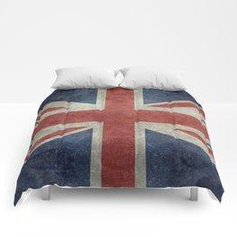 England's Union Jack, Dark Vintage 3:5 scale Comforters