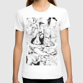 sex collage T-shirt