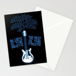 Blues Is The Roots Stationery Cards
