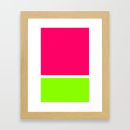 ColorBlock Framed Art Print