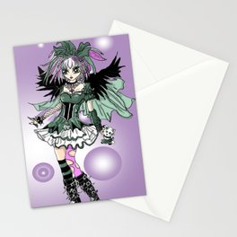 Gothic Lolita  Stationery Cards