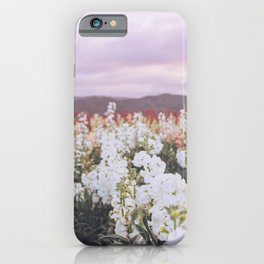 Lompoc Flower Field iPhone Case