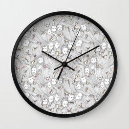 The Birds & The Beards Wall Clock