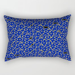 Blue Chill Rectangular Pillow