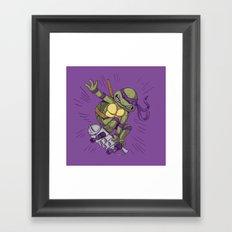 Shredding Framed Art Print