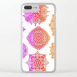 Zentangle Flow #2 Clear iPhone Case