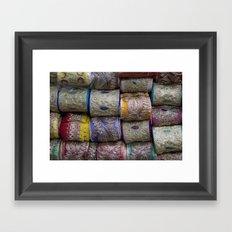 Lace Market Framed Art Print