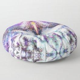 Cosmic Owl Floor Pillow