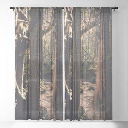 Forest Wonderland Sheer Curtain