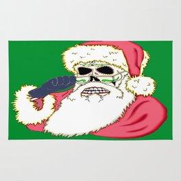 Bad Santa Sugar Skull Rug