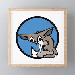 Cute Fennec Fox | Animal Series | DopeyArt Framed Mini Art Print