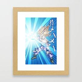 Gohan SSJ2 Framed Art Print