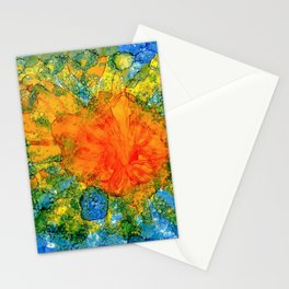 Sun Above Water Stationery Cards
