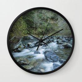 FLOW - Cazadero, California Wall Clock