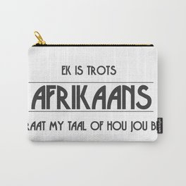 Afrikaans Carry-All Pouch