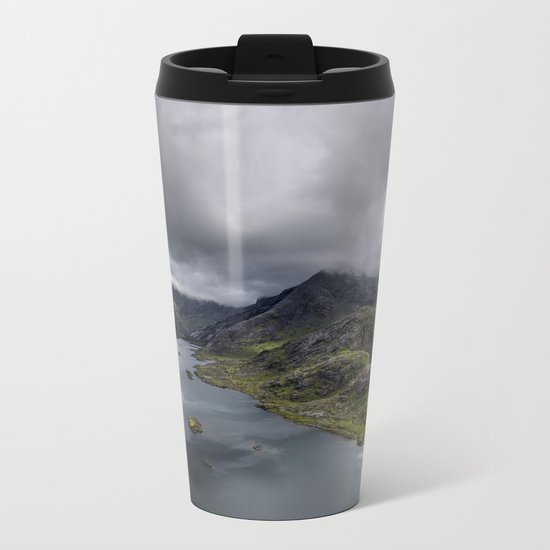To Conquer Metal Travel Mug