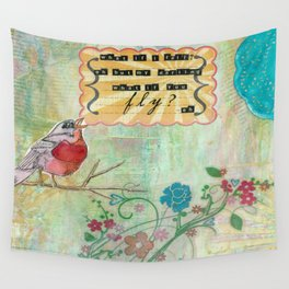What If You Fly? Wall Tapestry